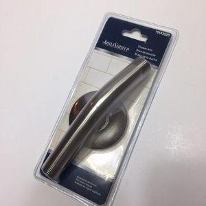 AquaSource Shower Arm Brushed Nickel Finish